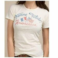 NWT Johnson Motors Lucky Brand Femme Fatale Sexy T Shirt Size Small