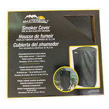 MASTERBUILT 30 Inch Electric Smoker Cover Weather Fade Resistant Black New