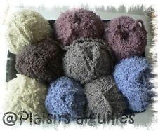 10 pelotes de laine PHIL DOUCE ECRU  NEUVES