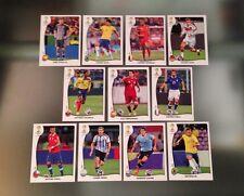 Panini 2014 Brazil World Cup ECUADOR OBSEQUIO BANCO V1-V11 Complete Sticker Set