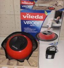 VILEDA VIROBì robotic mop raccoglipolvere-RICARICABILE+alimentatore-no feltrini