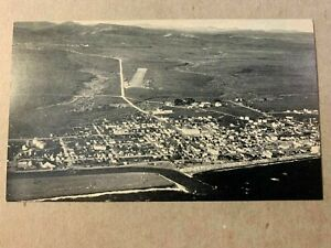 Vintage Postcard ~ Nome AK & Bering Sea Aerial View