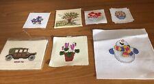 Job Lot Cross Stitch Canvases