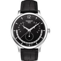 Tissot Men's T0636371605700 Black Dial Watch