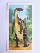 Brooke Bond Prehistoric Animals tea card 22. Iguanodon. Dinosaurs.