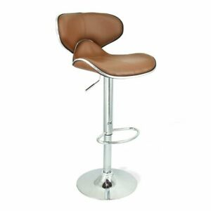 BRAND NEW UNIQUE HORSE BAR STOOL CAFETERIA CHAIR - BEIGE