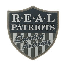 "NEW Maxpedition ""REAL PATRIOTS..."" - Swat - 3D Velcro-backed Morale Patch"