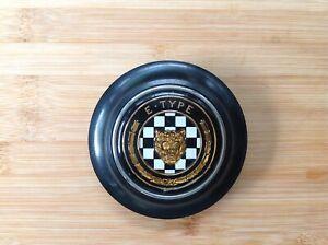 Jaguar E-Type Steering Wheel Horn Push Series 1 3.8 & 4.2 All original !