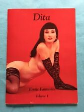 DITA. EROTIC FANTASIES: VOLUME 1 - INSCRIBED BY DITA VON TEESE