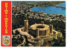 Postal de Palma de Mallorca. Castillo de Bellver. Vista aérea. Ed. Agata
