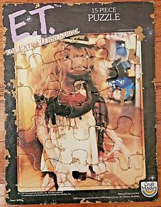 E.T. The Extra-Terrestrial 15 Piece Frame Tray Puzzle –Vintage 1982 Craft Master