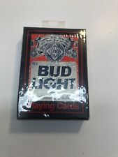 Vintage Bud Light Beer Playing Cards #371 Sealed Deck Nib Budweiser