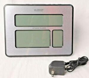 La Crosse Technology (513-1419BLv4) - Atomic Full Calendar Clock