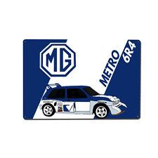 MG Metro 6R4 Rally Car Metal Wall Art / Print / Image