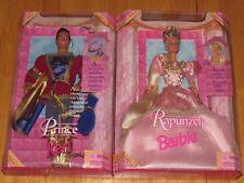 Rapunzel Barbie and Prince Ken Two Barbie Set 1997 NRFB