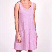 FRESH PRODUCE XL Flamingo Pink LUMINOUS DRAPE Beach Tank Dress $65.00 NWT New XL