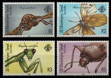 Äußere Seychellen 1988 - Mi-Nr. 149-152 ** - MNH - Insekten / Insects