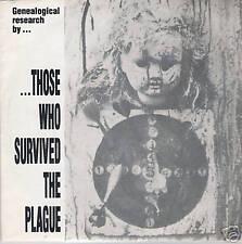 Single / THOSE WHO SUVIVED THE PLAGUE /  AUSTRIA /