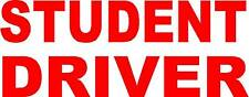 """STUDENT DRIVER MAGNETIC SIGN  8x18"""""""