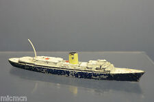 "TRI-ANG MINIC WATERLINE SHIPS MODEL  M721   RMS  "" BRITANNIA ""'  ROYAL YACHT"