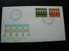 LUXEMBOURG - enveloppe 1er jour 7/5/1984 (europa) (cy25)