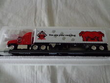 Matchbox 1:100 Ultra Series Ford Aeromax Red Dog Beer Tractor Trailer
