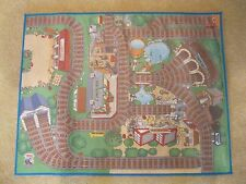 THOMAS & FRIENDS RUG PLAY MAT WITH RUBBER BACKING - 36 X 28