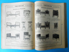 1900's AUSTRIA ANTIQUE CATALOG JOHANN URBAN, WIEN Furniture Textile Perambulator