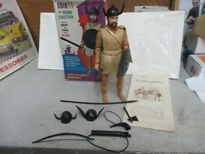 Viking Chieftain Odin Action Figure by Marx w/Box