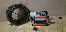 Ridgid K 60 Sewer Cleaning Machine With 75 Ft Snake Barely Used