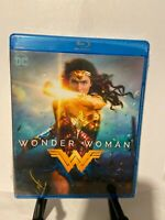 Wonder Woman Blu Ray Disc 2017 - New and Sealed - gal gadot, chris pine