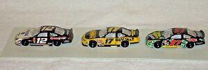 NASCAR HISTORY 3-PACK - #97 Kurt Busch - #17 Matt Kenseth - #12 Ryan Newman  NIC