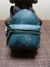 Coach 1716 Mini Rowan Satchel Bag Charm in Signature Canvas