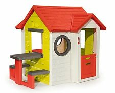 Smoby My House with Picnic Table, Smoby My House Playhouse, Outdoor playhouse