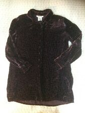 Luxurious JAEGER Ladies Blouse/ Shirt With Silk. Grape/ Purple-size Chest: 42in.