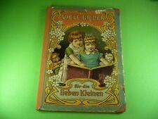 705KB1 Altes Bilderbuch um 1900: Viele Bilder für die lieben Kleinen, G & V. St.