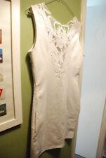 Blanc Robe Moulante Dentelle Été Mariage Fête Gothique