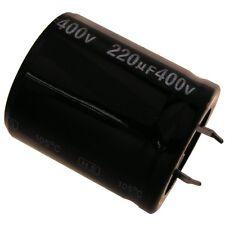 Elko Kondensator Jamicon HS 400V 220uF RM10 30x35mm 105°C Snap-in 854281