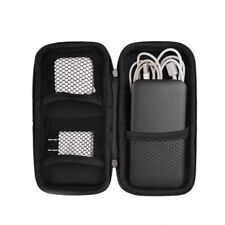 Portable Travel Storage Bag Power Bank USB Charger Cable Organizer Pouch Fun