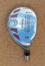 New Women I DRIVE Hybrid Golf Club + Graphite Shaft,  #3 to SW U Choose