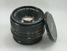 Konica Hexanon AR 50mm F1.8 Manual Focus Standard Lens No. 7126919