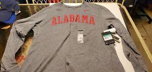 Alabama Crimson Tide NCAA Nike  Dri-fit football  shirt XL L/S