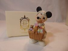 *Longaberger Lenox Merry Christmas Mickey Sculpture signed by Brenda Smith