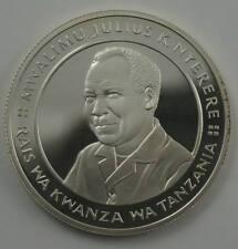 TANZANIA 20 Shilingi 1981 Silver Proof Independence President Nyerere