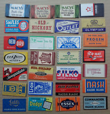 Vintage USA Razor Blades Choose 5 Diff from  3 Photos for $6.99 READ CAREFULLY