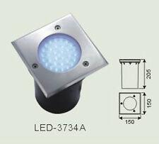 Ramsi LED aluminium météo preuve éclairage souterrain 205 mm / 150mm / 150mm 1