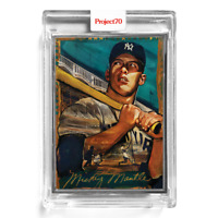 Topps Project70 Card 100 - 1952 Mickey Mantle - Andrew Thiele - Artist Proof /51