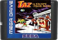 Taz in Escape From Mars (1994) 16 Bit Game Card For Sega Genesis / MD System