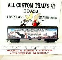 """HO CUSTOM LETTERED TRUMP 2020 """"IN THE CROTCH"""" COLLECTIBLE REEFER  LOT F"""
