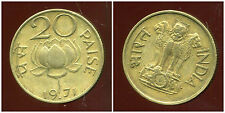 INDE  20 paise 1971